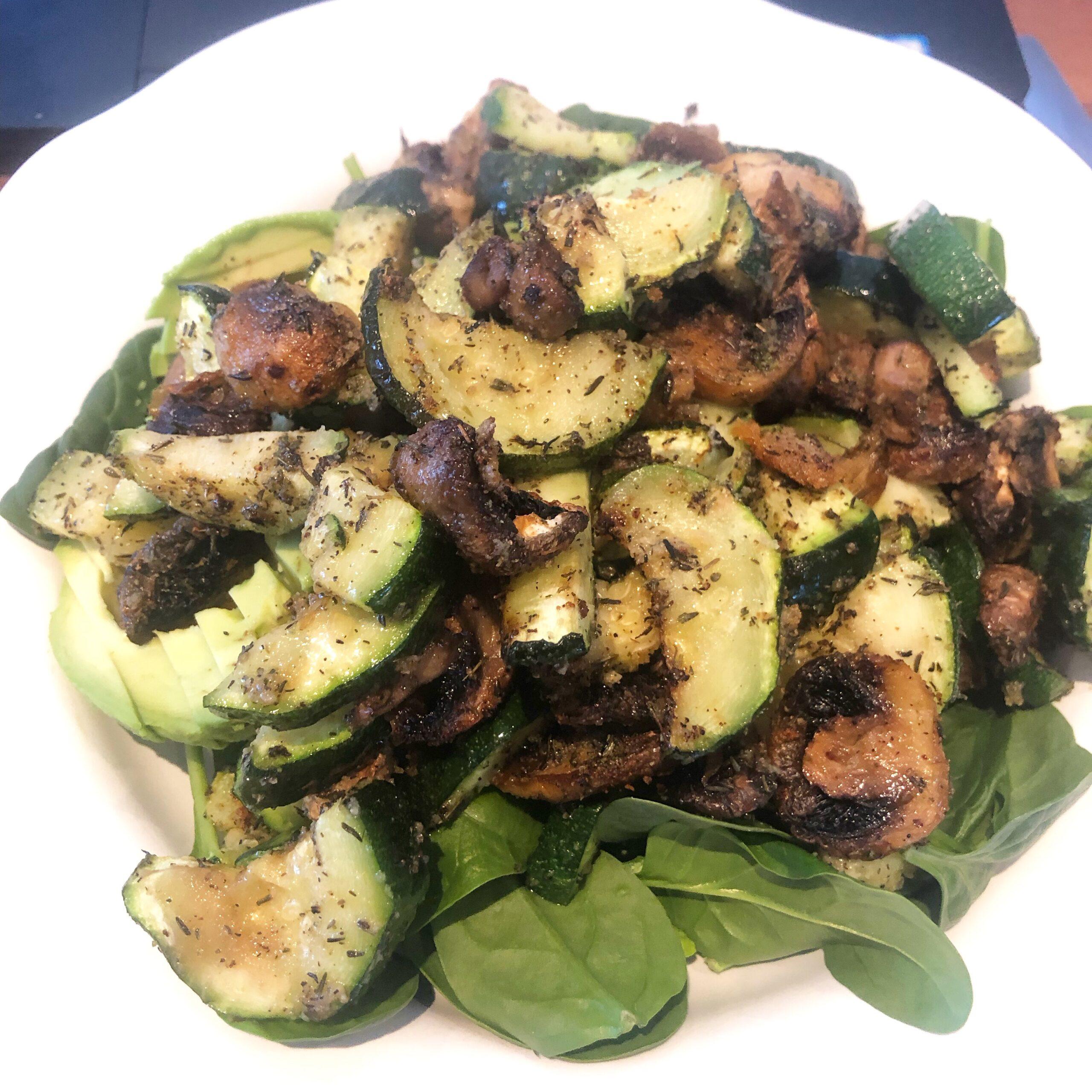 Recipe of vegan AIP fast food